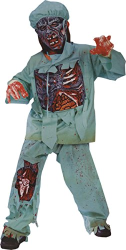 [Morris Costumes Zombie Doctor Child Medium] (Zombie Doctor Childrens Costumes)