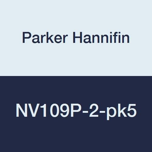 1//8 Female Pipe x 1//8 Male Pipe Brass Pack of 5 1//8 Female Pipe x 1//8 Male Pipe Pack of 5 Parker Hannifin Corporation Parker Hannifin NV109P-2-pk5 Series NV109 Needle Valve