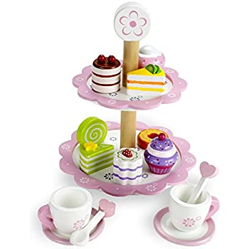 Wood Eats! Tea Time Pastry Tower by Imagination Generation