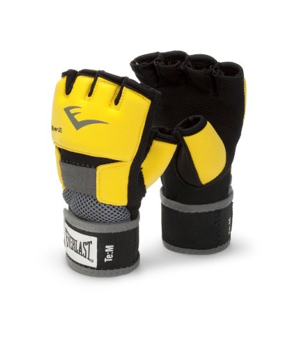 (Everlast EverGel Hand Wraps (Yellow, Medium))