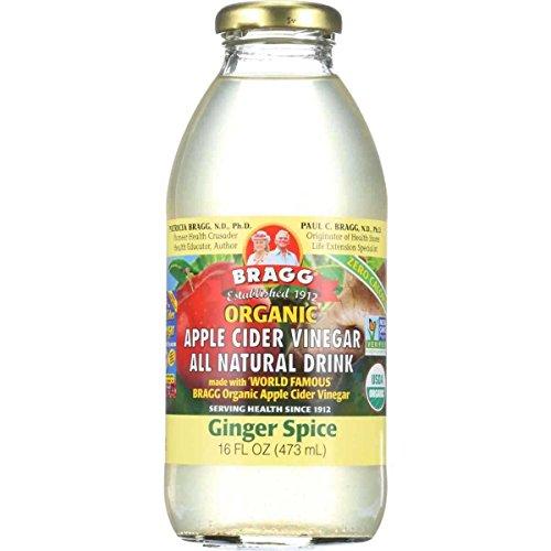 Apple Vinegar Ginger Bottles Ounces
