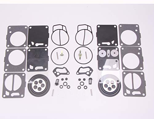 New 2 sets Twin Carburetor Carb Repair Rebuild Kits for Mikuni SeaDoo 50 717 720 787 800 SP GS GTX HX XP SPX GTS
