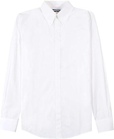 DSQUARED2 Camisa clásica Blanca White Meduim: Amazon.es: Ropa y accesorios