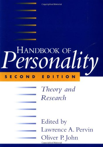 Handbook of Personality: Theory and Research, Second Edition
