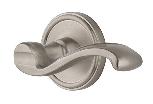 Grandeur Georgetown Rosette with Right Handed Portofino Lever, Single Dummy, Satin Nickel (Single Portofino)