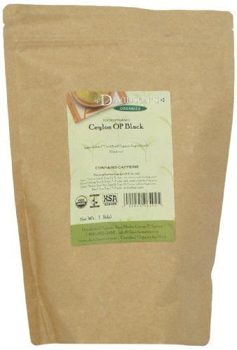 - Davidson's Tea Bulk, Ceylon Op Black, 1 lb Bag