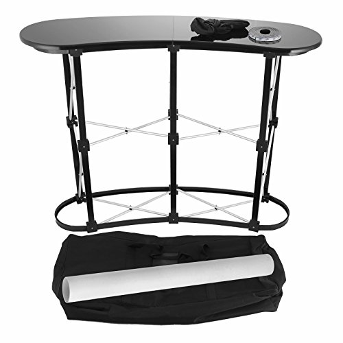 SucceBuy Trade Show Display Table With 2x2 Promotion Trade Show Counter Display Aluminum Alloy Pop Up Podium Counter For Exhibition by SucceBuy