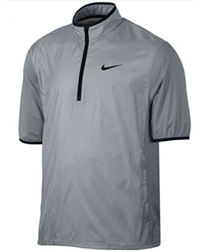 Amazon.com  Nike Closeout Shield Men s Short Sleeve Golf Jacket ... c577506c9665