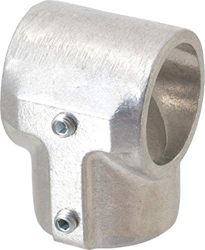 Aluminum Alloy Pipe Rail Fitting Hollaender 7 Pack Tee-E 1-1//2 Inch Pipe