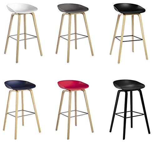 aaf3f487493f14 Hay about a stool AAS 32 hay lot de 2 tabourets de bar en bois hauteur  d assise 65 cm pieds par hee welling danemark aas 32  Amazon.fr  Cuisine    Maison