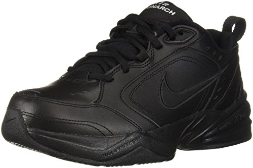 NIKE Men's Air Monarch Iv Cross Trainer,black/black,10.5 4E US ()