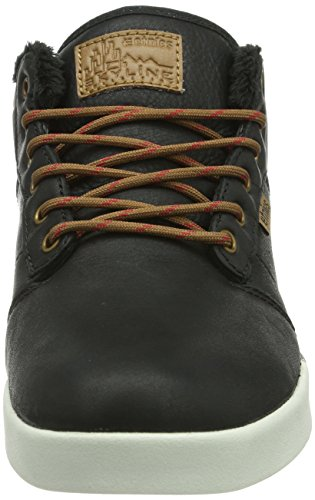 Etnies Smu Scarpe Jefferson Nero Mid Lx Skateboard Brown Uomo Black da wttr4