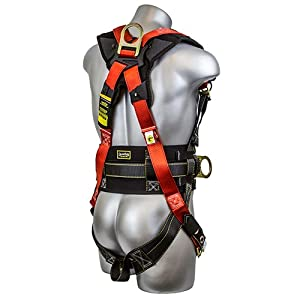 Guardian Fall Protection 11173 M-L Seraph Construction Harness with Side D-Rings