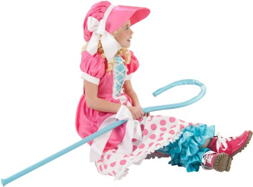 Children's Polka Dot Bo Peep Costume- Size Medium (7-8) (Bo Peep Costume For Adults)