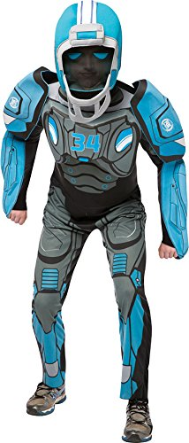 Rasta Imposta Cleatus Fox Sports Robot Deluxe Costume, Blue, Adult