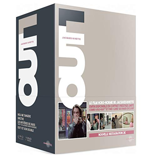 - Out 1 (LIMITED EDITION DELUXE BOX SET, DUAL FORMAT: 6 BLU-RAYs & 7 DVDs)