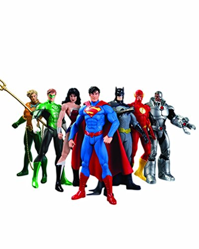 Super Hero Set 7 inch Hero Series Action Figures Toys 7 Pack