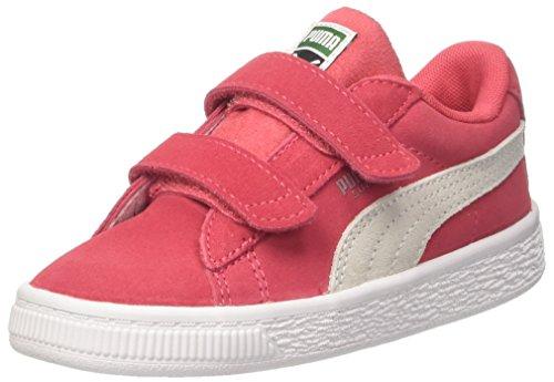Puma Suede Classic V Inf, Zapatillas Para Niñas Rosa (Paradise Pink-puma White)