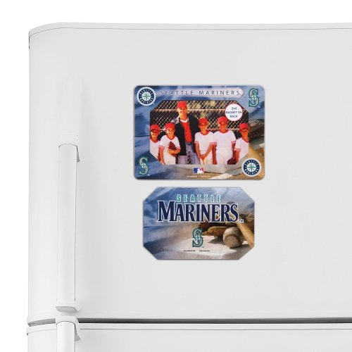 OKSLO Seattle Mariners WinCraft Vertical Photo Frame Magnet - No Size