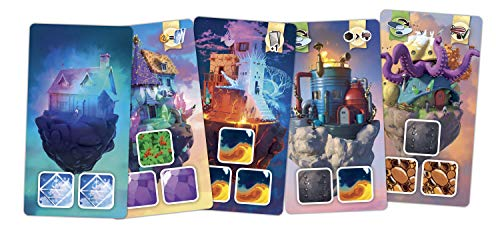 Ankama Board Games Welkin Construct Magical Buildings