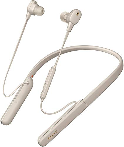 Sony WI-1000XM2 Wireless Noise Cancelling Bluetooth In-ear Headphones - Silver