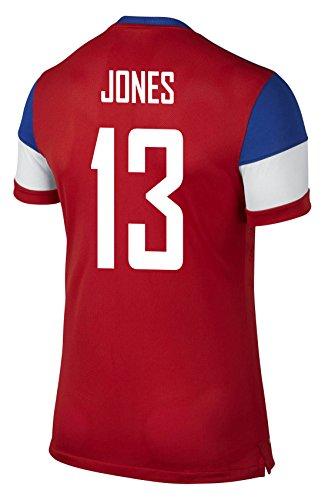 方法論ラベ我慢するNIKE JONES #13 USA AWAY JERSEY 2014 YOUTH/サッカーユニフォーム アメリカ アウェイ用 背番号13 ジョーンズ 2014 ジュニア向け