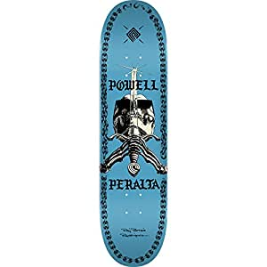 "Powell Peralta Skull & Sword Chainz Blue Skateboard Deck - 8.5"" x 32.08"""