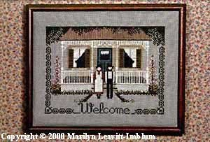 Amish Welcome Cross Stitch Chart