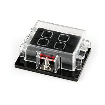 6 way circuit car automotive atc ato blade fuse box holder 32v fuse rh amazon ca