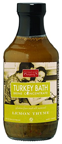 TURKEY BATH Lemon Thyme Brine Four Pack by Sweetwater Spice Co