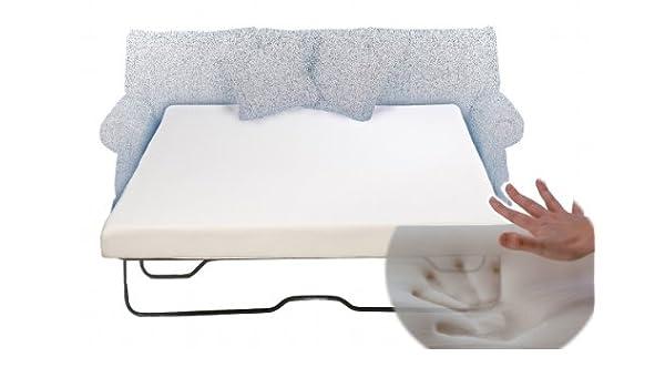 Sofa Sleeper Mattress Store Sofá Cama colchón de Espuma con Efecto Memoria Full 52 x 72 x 4,5: Amazon.es: Hogar