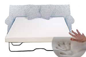 Amazon Com Eco Mattress Store Sleeper Sofa Memory Foam Mattress Queen 58 X 72 X 4 5 Kitchen