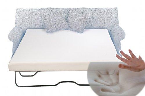 Eco Mattress Store Sleeper Sofa Memory Foam Mattress Queen 58 x 72 x 4.5