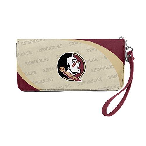 Card Credit Florida State (NCAA Florida State Seminoles Curve Zip Organizer Wallet)