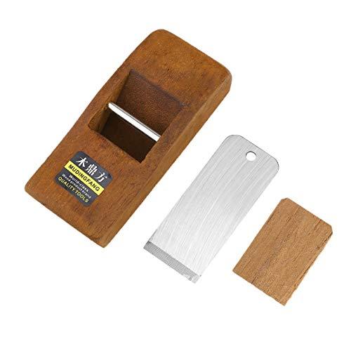 MXECO 108MM Hogar y jardín Mini plano de carpintería Cepillo de mano de madera Herramienta de bricolaje Carpintero…