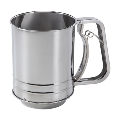 Baker's Secret 3-Cup Stainless Steel Flour - Sifter Cup 3 Flour