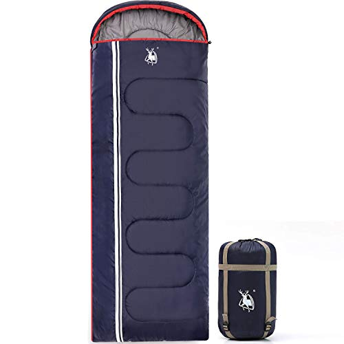 HUI LINGYANG Camping Sleeping Bag -Portable, Waterproof, Compact & Lightweight-Great for Outdoor,Traveling, Backpacking & Hiking