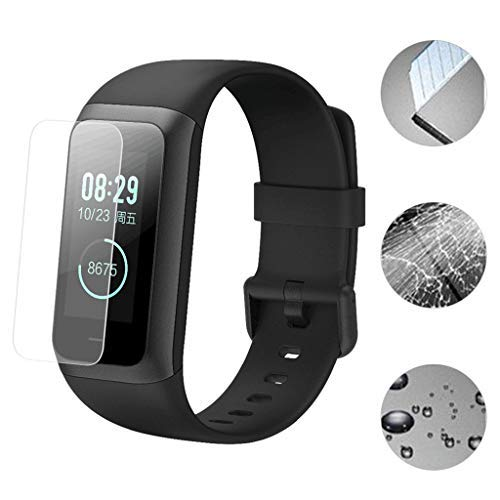 Samoii Smart Watch Accessories 5Pcs Soft TPU Explosion-Proof Screen Protector Film for Xiaomi for Huami Amazfit Cor 2 Smart ()
