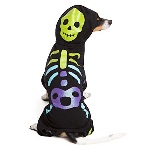 Martha Stewart Pets Skeleton Dog Pet Costume Pajamas (Medium)