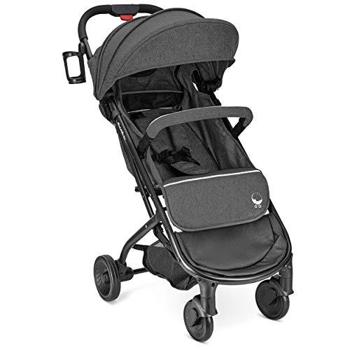 New Airplane Lightweight Compact Travel Stroller (Black)