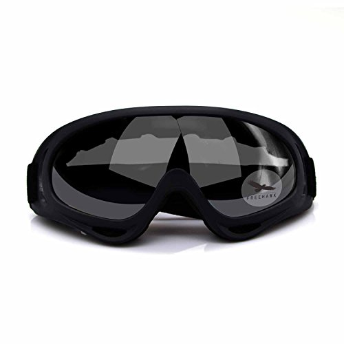 Freehawk-Adjustable-UV-Protective-Outdoor-Glasses-Motorcycle-Goggles-Protective-Combat-Goggles-Military-Sunglasses-Outdoor-Tactical-Goggles-to-Prevent-Particulates-in-Grey-Lens