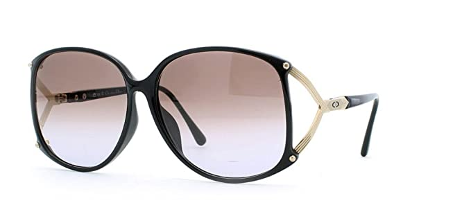 Amazon.com: Christian Dior 2496 a 90 Negro Authentic clásico ...