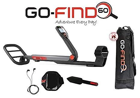 MINELAB go-find 60 Bluetooth metal detector Pala con micrófono Soporte Nuevo: Amazon.es: Deportes y aire libre