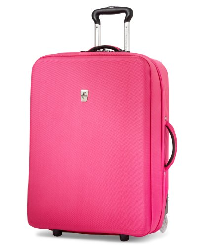 Atlantic Luggage Debut 25 Inch Expandable Upright, Pink, One ()