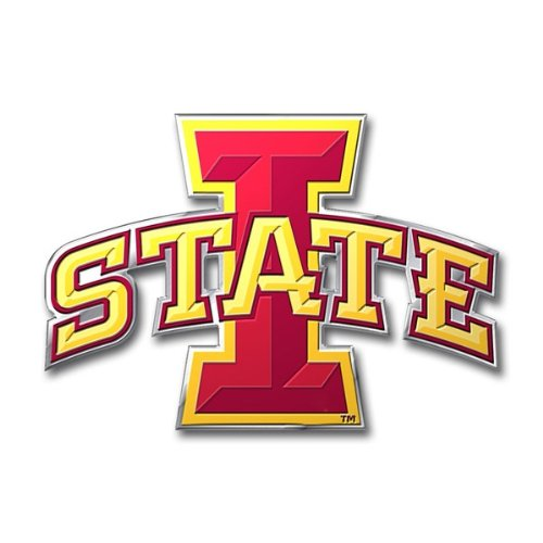 Team ProMark NCAA Iowa State Cyclones Die Cut Color Auto Emblem