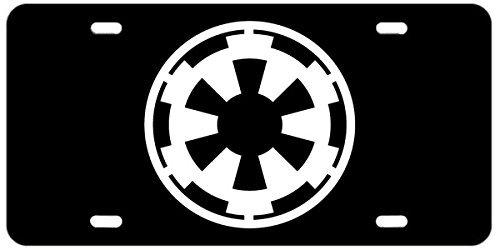 Empire Star Wars License Plate