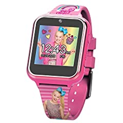 Jojo Siwa kid's touchscreen smart watch with selfie-camera.