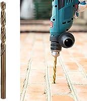 Brocas Acero Alta Velocidad 10 Piezas/Caja,Herramienta Perforación Metal,Piezas Herramientas Eléctricas,Juegos Brocas para Taladro Pistola Ordinario(4.0 per box/full grinding 4341): Amazon.es: Industria, empresas y ciencia