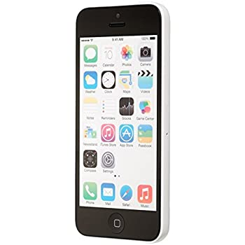 Apple iPhone 5C 16GB Factory Unlocked GSM Cell Phone (White)