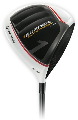 TaylorMade Burner Super Fast 2.0 Golf Driver, Left Hand, Graphite, 9.5-Degree, Regular (Burner Taylormade Left)
